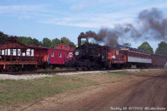Buckley Railroad 207   former Detroit Edison 207  0-4-0 Alco,1924