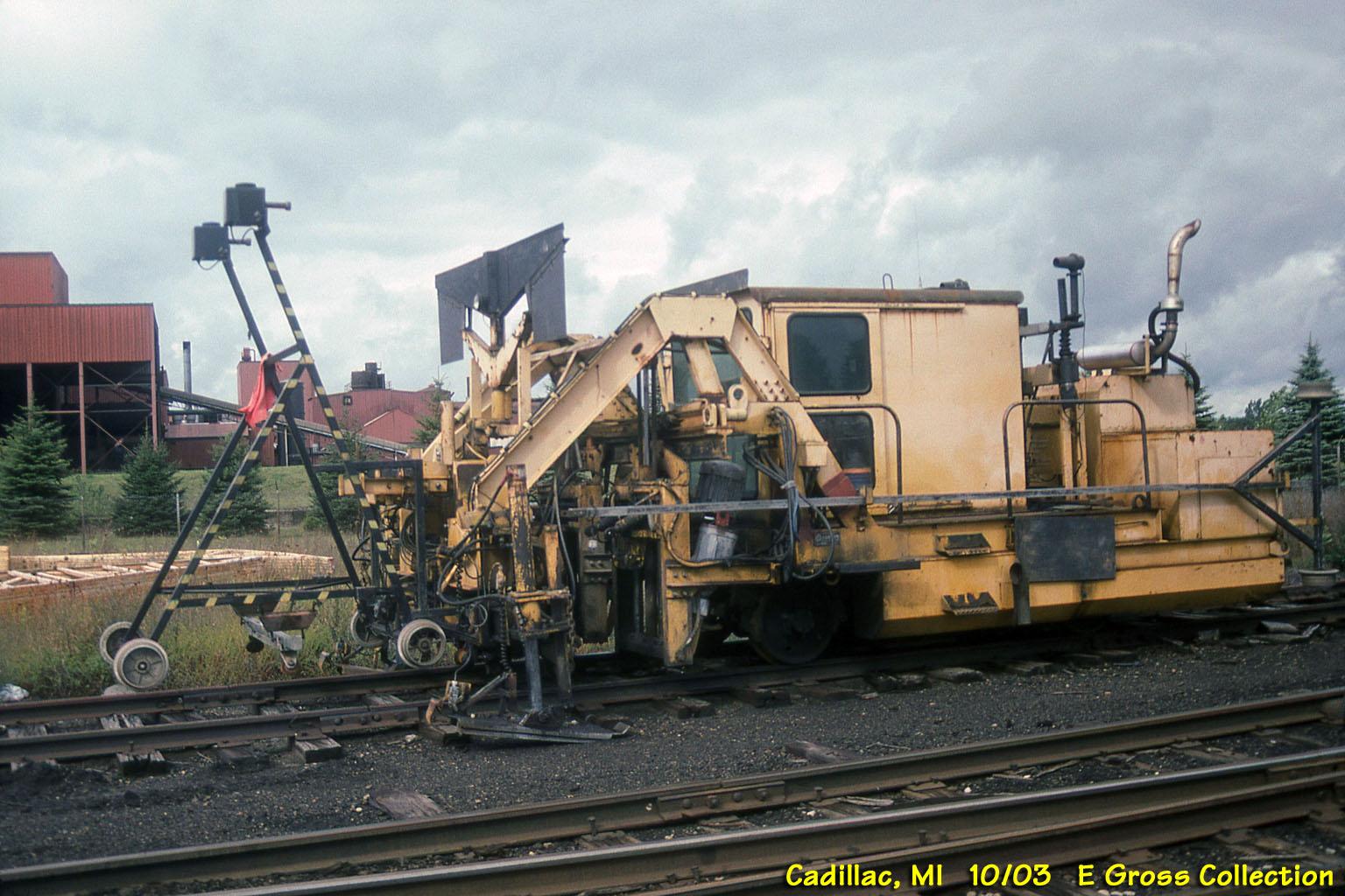 Miscellaneous Railroad Equipment