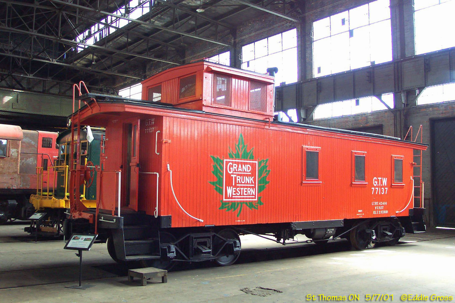 Cab London Ontario >> Elgin County Railway Museum